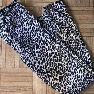 RES Denim Ombré Leopard Skinny Jeans size 25